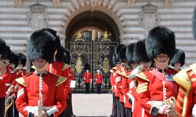 First woman commander for Changing of the Guard