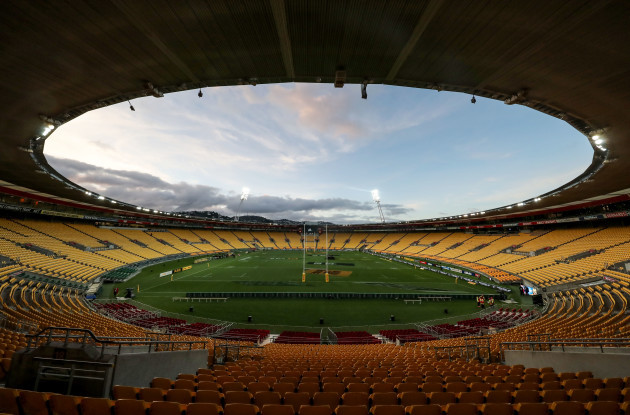 A view of Westpac Stadium