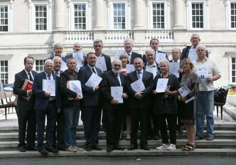 Right2Homes press Conference Getting Behind The Bill, At Leinster House.