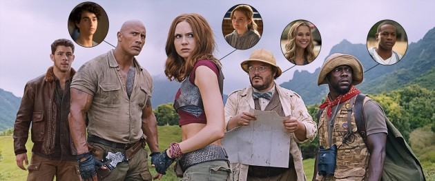 Jumanji CR: Sony Pictures Entertainment