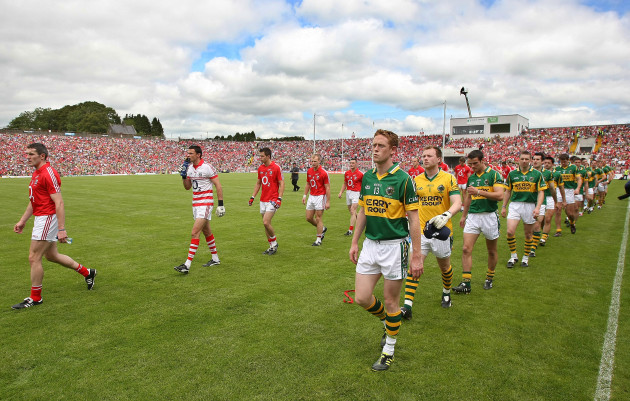 Colm Cooper and Graham Canty