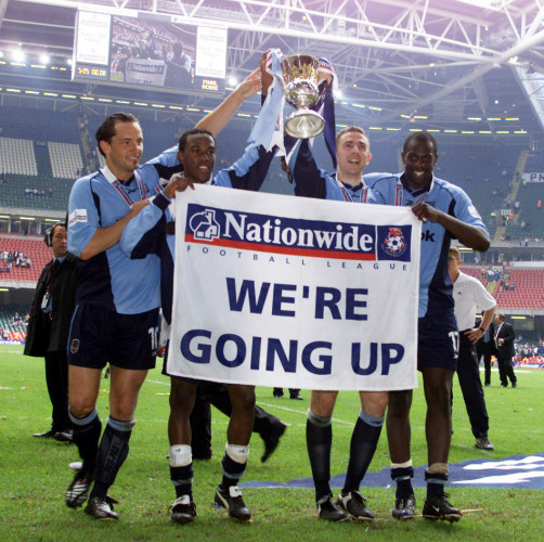 Bolton celebrating