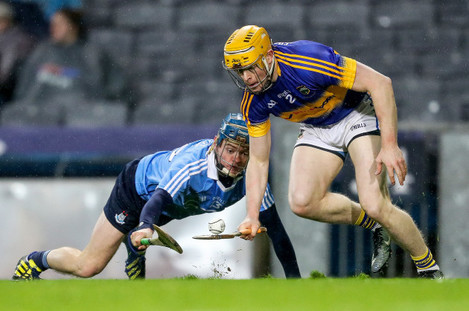 Oisin O'Rourke with Donagh Maher