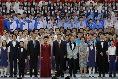 Hong Kong China 20 Years