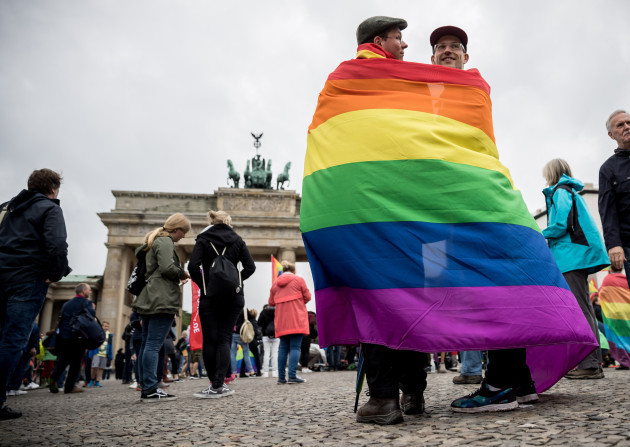 German Bundestag votes to legalize same-sex marriage