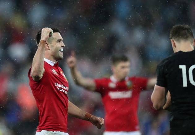 Conor Murray celebrates winning