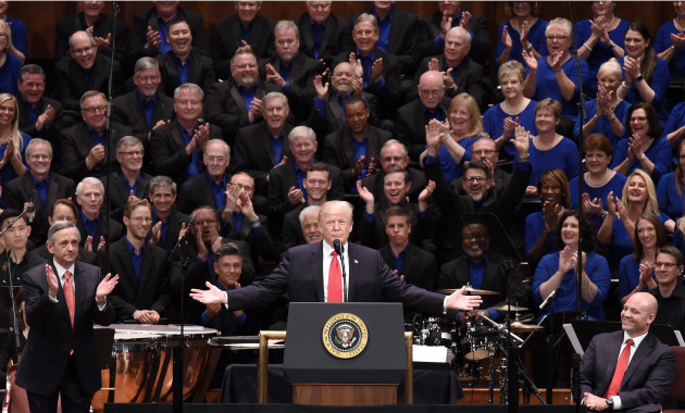 President Trump participates in the Celebrate Freedom Rally - DC