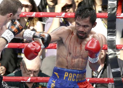 Australia Boxing Pacquiao Horn