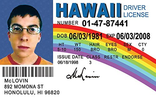 Who Sign Mclovin Extremely At A Was It And Bumped Guy Played Into Awkward With The Festival