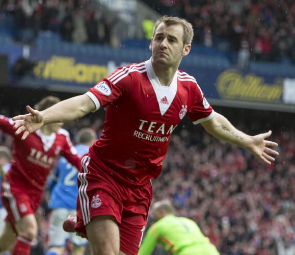 Soccer - William Hill Scottish Cup - Semi Final - St Johnstone v Aberdeen - Ibrox Stadium