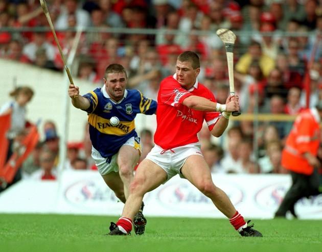 Paul Shelly and Diarmuid O'Sullivan 2/7/2000