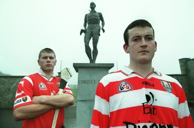 Donal Og Cusack and Diarmuid O'Sullivan 1/7/1999