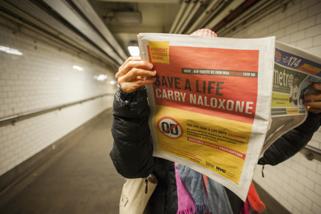 NY: New York urges carrying of Naloxone