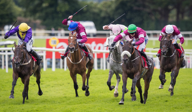Donagh Meyler onboard Lord Scoundrel comes home to win