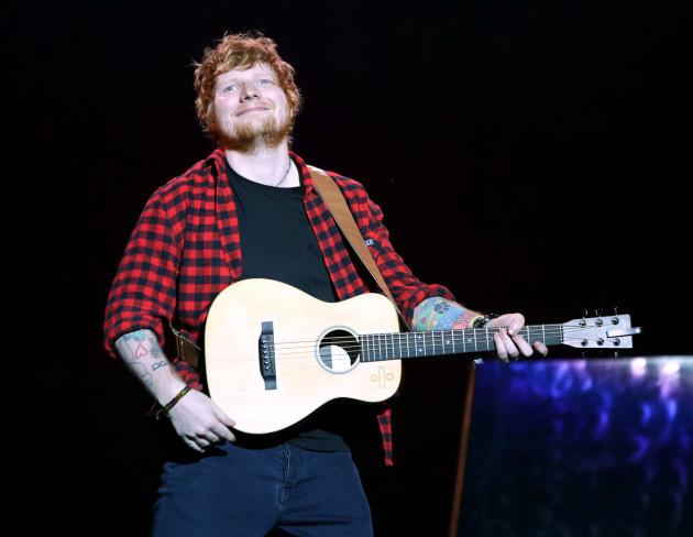 Ed Sheeran Twitter account