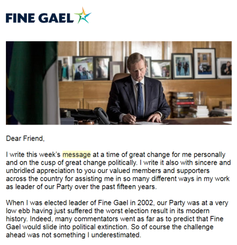 Leo Varadkar will send out weekly video messages of how he's
