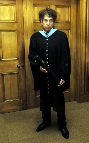 Bob Dylan Honorary Degree