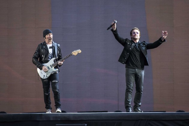U2 in concert - Twickenham Stadium
