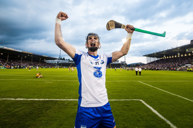 Maurice Shanahan celebrates after the game