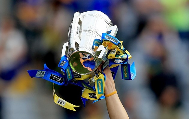 A view of the Liam McCarthy cup