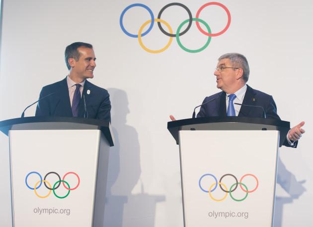 (SP)SWITZERLAND-LAUSANNE-OLYMPIC GAMES-2024 BID