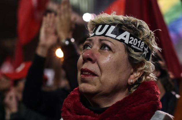 BRAZIL-SAO PAULO-FORMER PRESIDENT-PROTEST