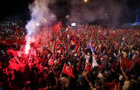 Turkey Coup Anniversary
