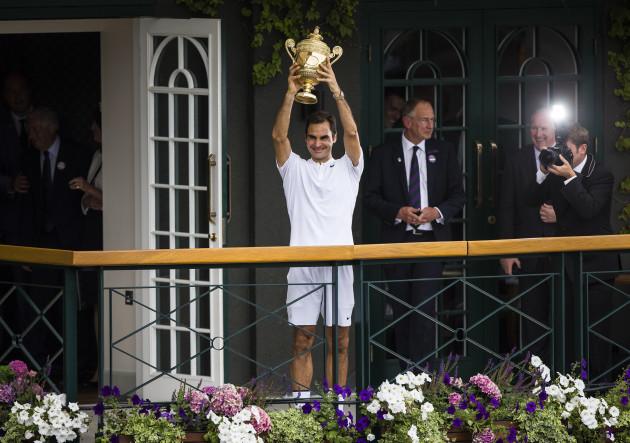 (SP)BRITAIN-LONDON-TENNIS-WIMBLEDON-MEN'S FINAL