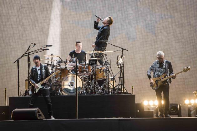 U2 in concert - Twickenham Stadium