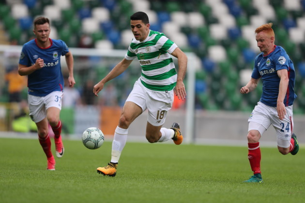 Linfield v Celtic - UEFA Champions League Qualifying - Second Round - First Leg - Windsor Park