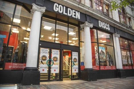 Golden Disc Vinyl Lounge, Patrick St. Cork