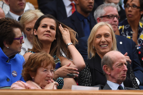 Wimbledon Women Final - VIPs