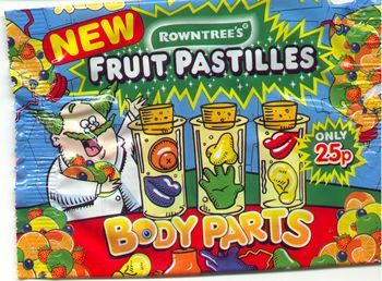 Body Parts (Rowntrees)