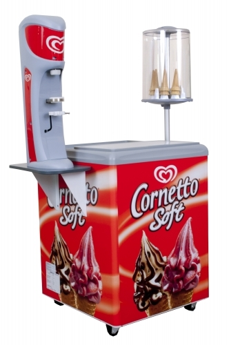 Cornetto Soft freezer