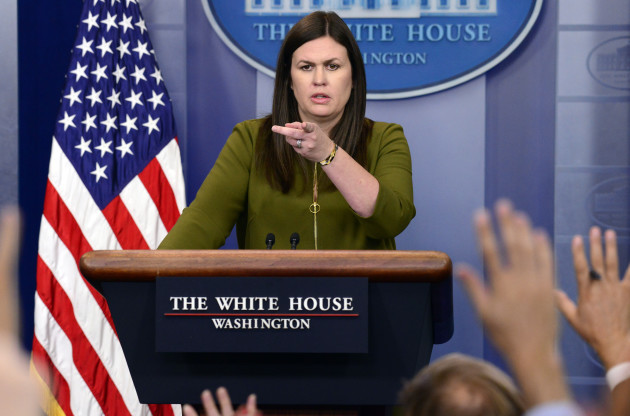 DC: Sarah Huckabee Sanders Daily Briefing