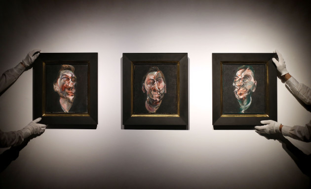 Francis Bacon triptych auction