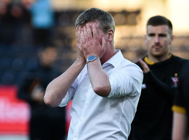 Stephen Kenny after the game