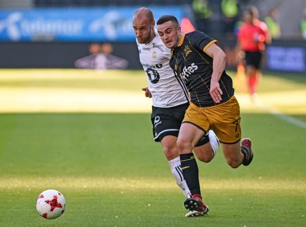 Michael Duffy and Tore Reginiussen