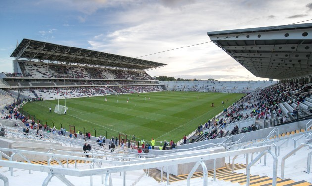 A general view of Pairc Ui Chaoimh during the match