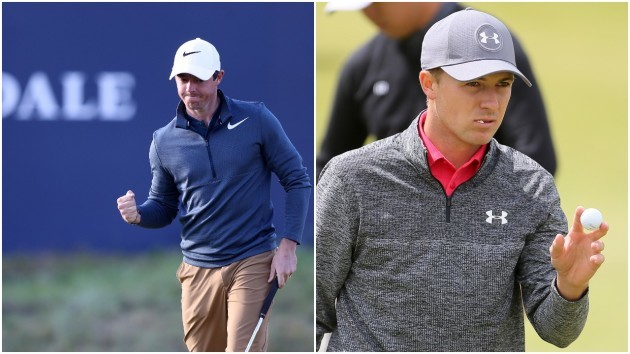 eea0acd9964 Spieth joint leader after first round of The Open as McIlroy bounces back  with late rally