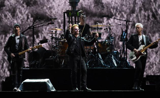 U2 concert in Berlin - The Joshua Tree Tour