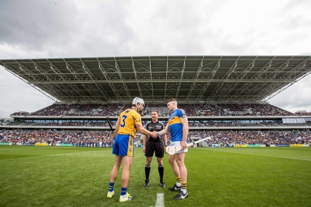 Colm Lyons with Patrick O'Connor and Padraic Maher
