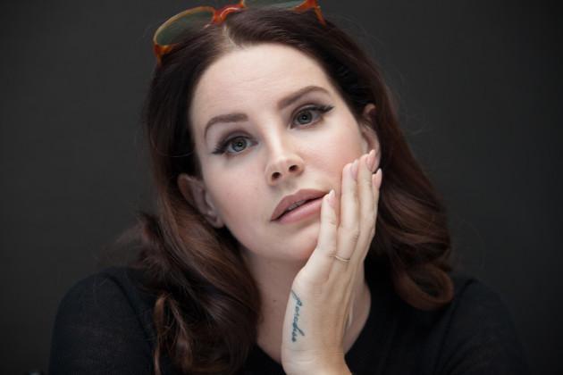 Lana Del Rey Promotes Big Eyes - New York