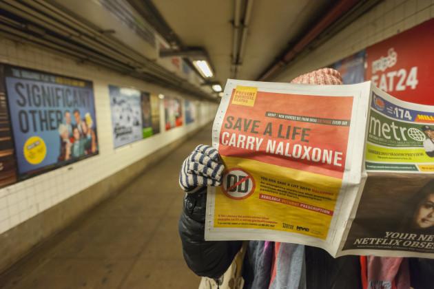 NY: New York urges carrying of Naloxone