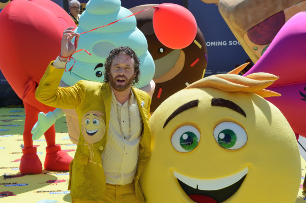 Cannes Emoji Movie photocall AM