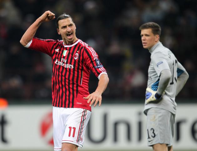Soccer - UEFA Champions League - Round of 16 - First Leg - AC Milan v Arsenal - Stadio Giuseppe Meazza