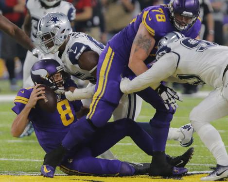 NFL Cowboys vs Vikings