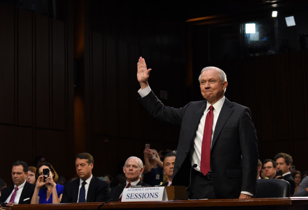 U.S.-WASHINGTON D.C.-ATTORNEY GENERAL-JEFF SESSIONS-HEARING