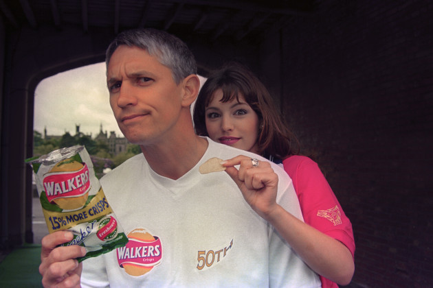 Entertainment -  Walkers Crisps 50th Birthday Party - Gary Lineker - Alton Towers
