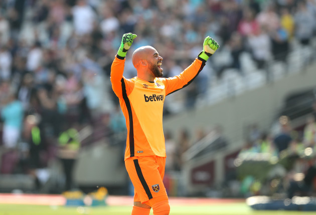 West Ham United v Swansea City - Premier League - London Stadium